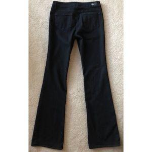 PAIGE Jeans - PAIGE RISING GLEN 4 WAY BLACK BOOT CUT DENIM JEANS